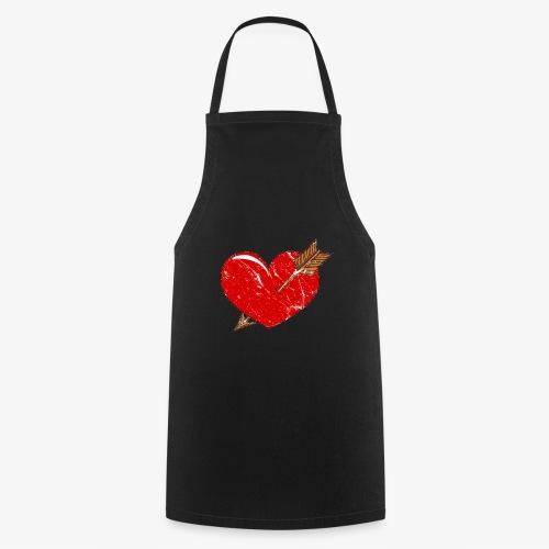Herz Pfeil - Kochschürze