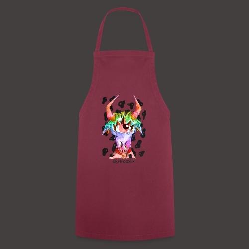 Taureau multi-color - Tablier de cuisine