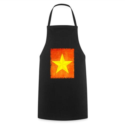 yellow amish barn star t-shirt design gift idea - Grembiule da cucina