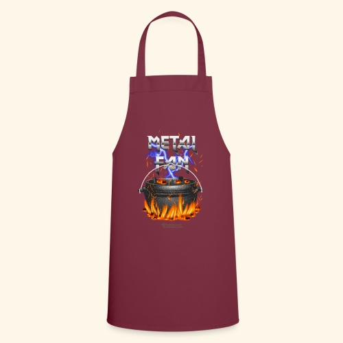 Metal Fan | ▶ Visit Dutch Oven T-Shirts - Kochschürze