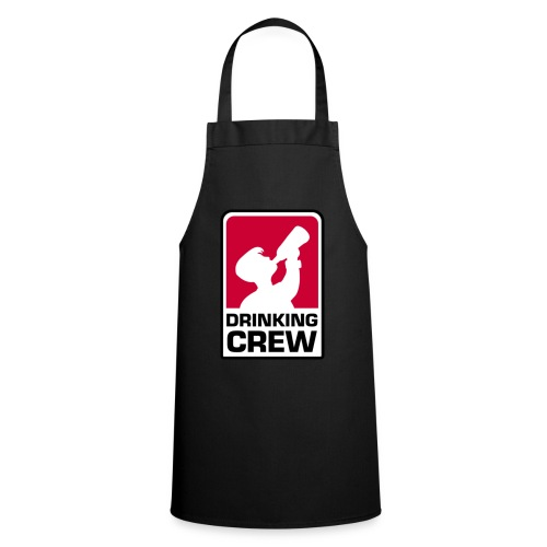 Drinking Crew Logo - Kochschürze