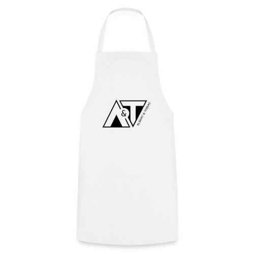 A & T - logo - S/H - Forklæde