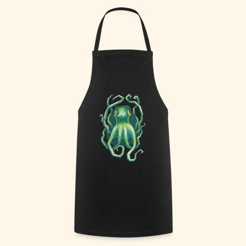 Grön bläckfisk - Förkläde