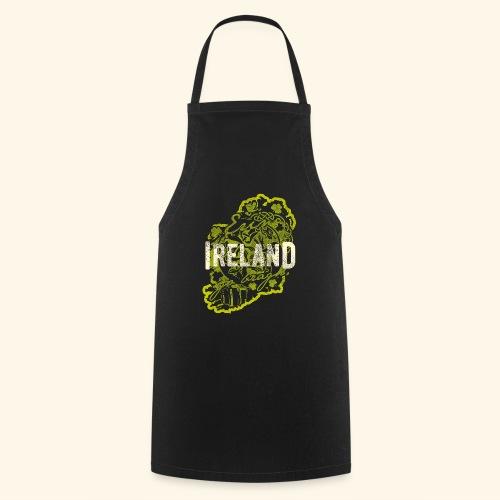 Ireland T Shirt Design - Kochschürze