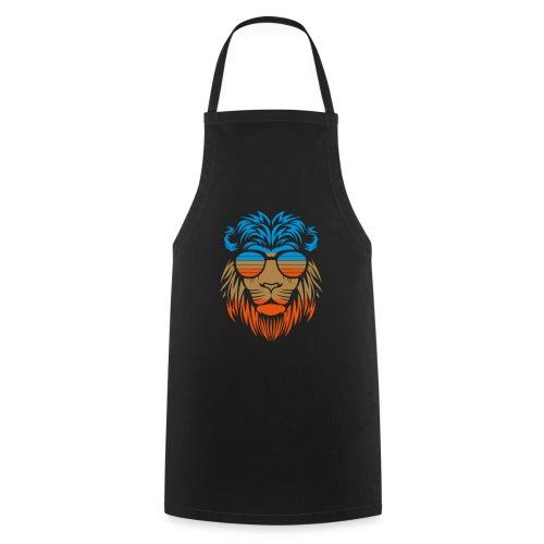 Retro Lion Sunglass - Kochschürze