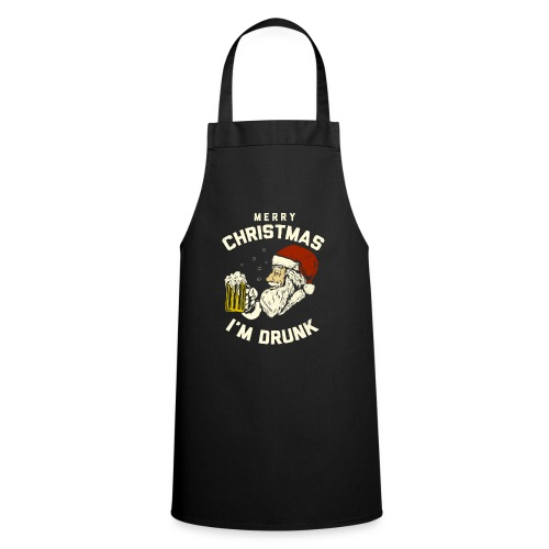 MERRY CHRISMAST I'm Drunk - Cooking Apron