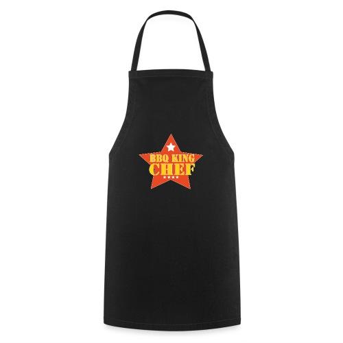 BBQ schort man - bbq king - chef - Keukenschort