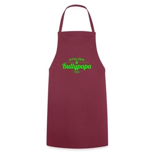 Bullypapa Wunschname - Französische Bulldogge - Kochschürze