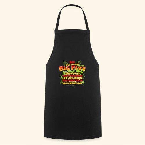 Sprüche T Shirt Die deutschen Big Five - Kochschürze