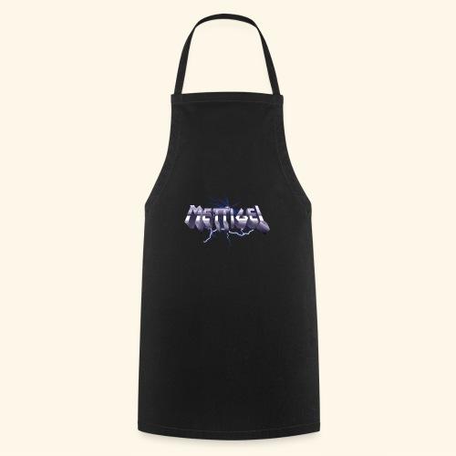 Mettigel T Shirt Design Heavy Metal Schriftzug - Kochschürze