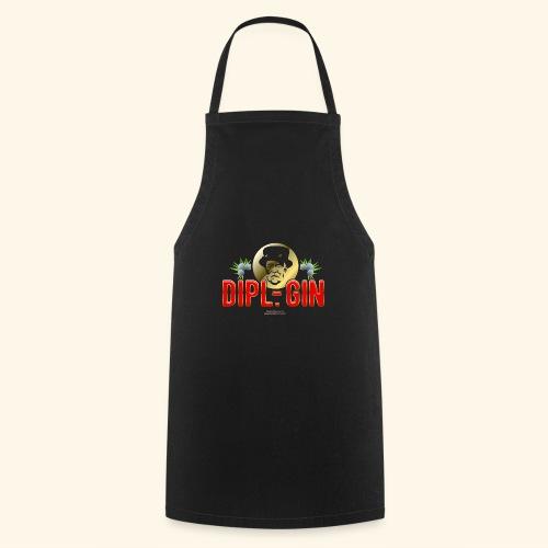Gin T Shirt Design Dipl.-Gin - Kochschürze