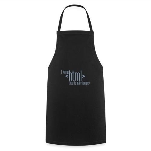 I know HTML - Kochschürze