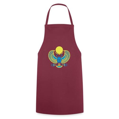 Geflügelter Skarabäus I Hieroglyphen - Kochschürze