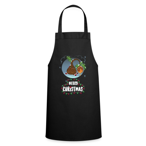 Pino navideño - Delantal de cocina