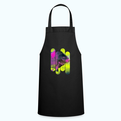 Neon colors fish - Cooking Apron
