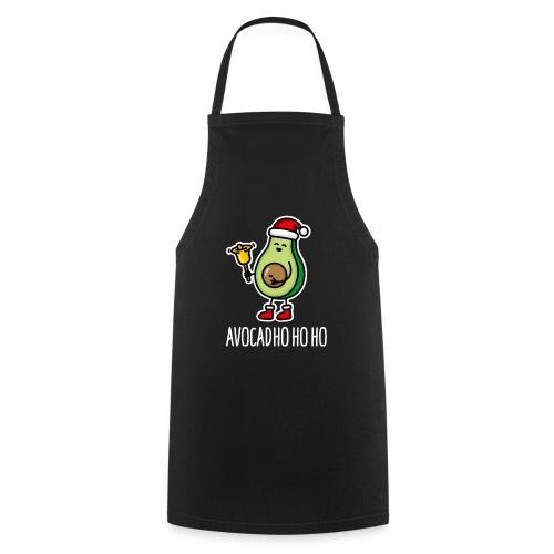 Avocad ho ho ho avocado Santa Claus pun keto diet - Cooking Apron