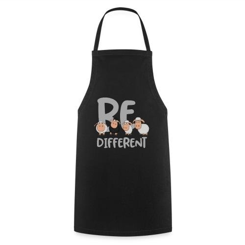 Be different Schafe: Einzigartiges schwarzes Schaf - Kochschürze