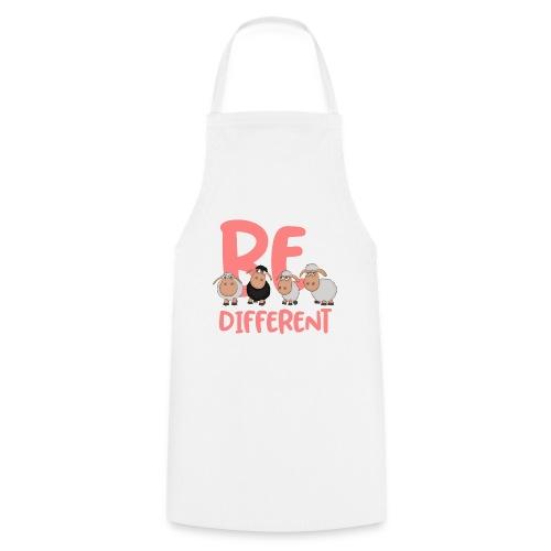 Be different pinke Schafe - Einzigartige Schafe - Kochschürze