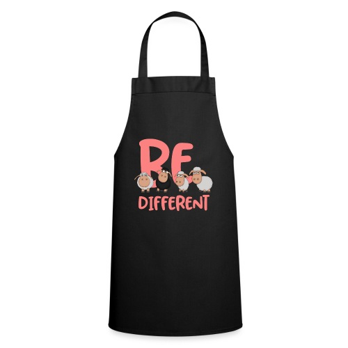 Be different pink sheep - Unique sheep - Cooking Apron