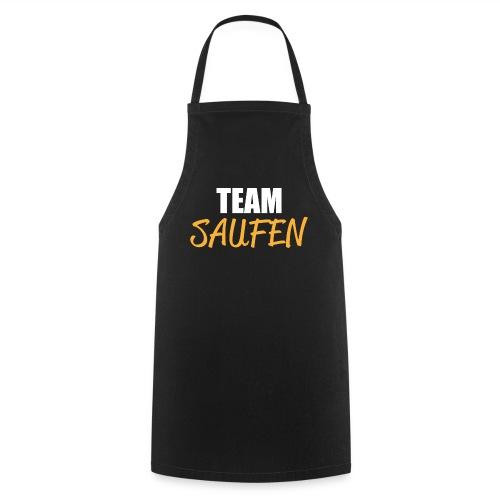 Team saufen Shirt - Kochschürze