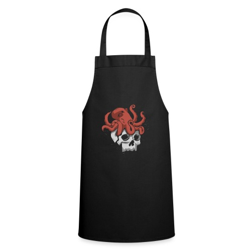 Skull and Octopus Heavy Metal Fans Novelty Gift - Cooking Apron