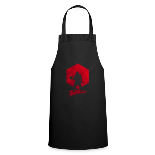 Brutal Barbarian - Dungeons and Dragons dnd d20 - Cooking Apron