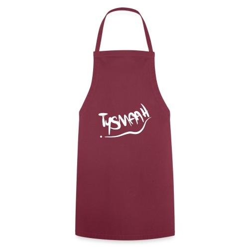 Logo blanc - TYSMAAH - Tablier de cuisine