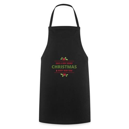 merry christmas, christmas present, christmas tree - Cooking Apron