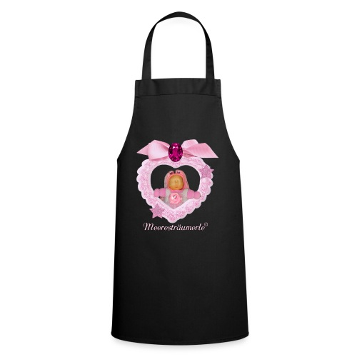 Meerestraeumerle Prinzessin in rosa Herz - Kochschürze