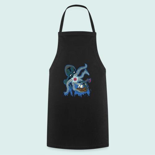 Männer Tank Top mit Ringerrücken - Kraken (Limit - Kochschürze