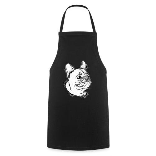 Französische Bulldogge Kopf - Kochschürze