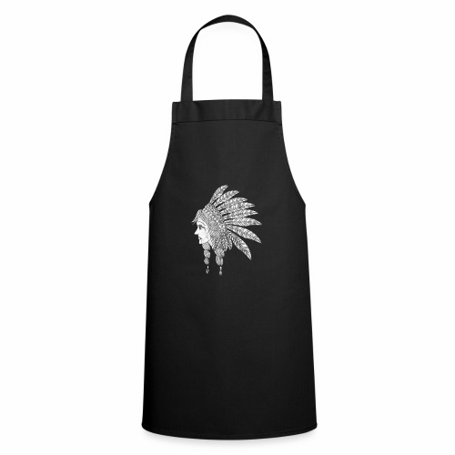 Indian Girl Illustration - Cooking Apron