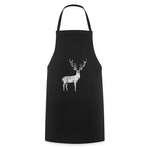 Hirsch Wald Tier Weihnachten Jagd Wild Geschenk - Kochschürze