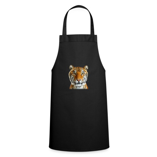 tiger wild animal - Fartuch kuchenny