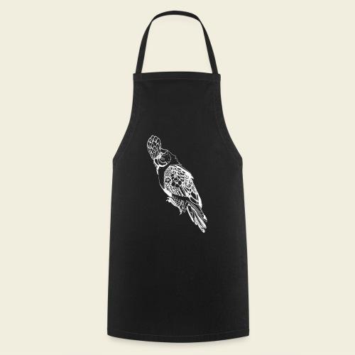 Kakadu weiß - Kochschürze