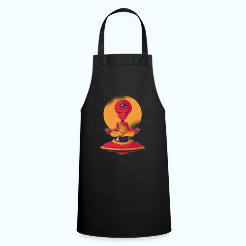 Alien meditation - Cooking Apron