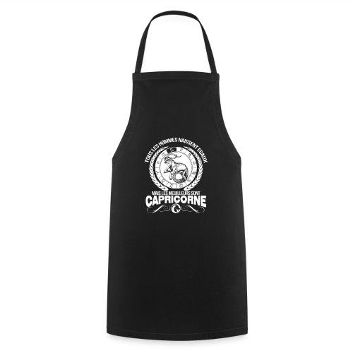 T-shirt signe du zodiaque horoscope Capricorne - Tablier de cuisine