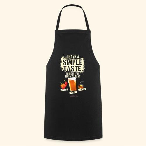 Whiskey Chili Craft Beer SHU IBU PPM - Kochschürze