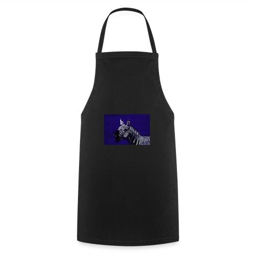 blue zebra - Cooking Apron