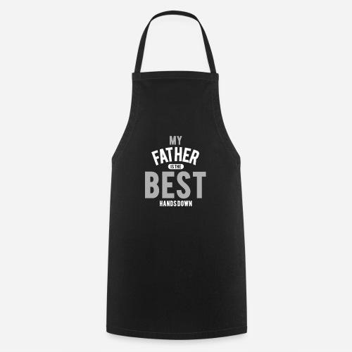 OmaAdele - Best Dad gray - Kochschürze