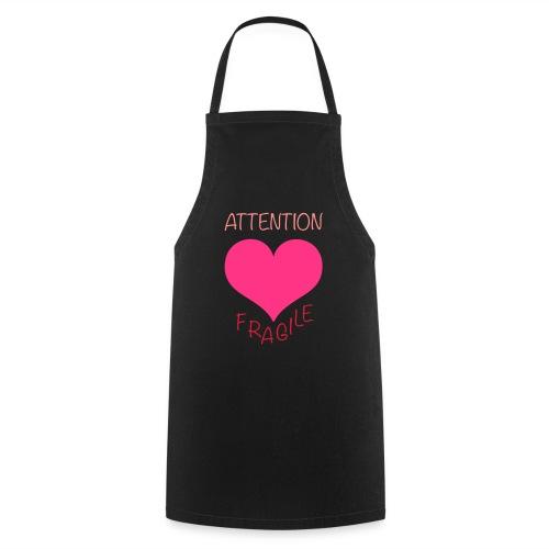 coeur fragile - Tablier de cuisine
