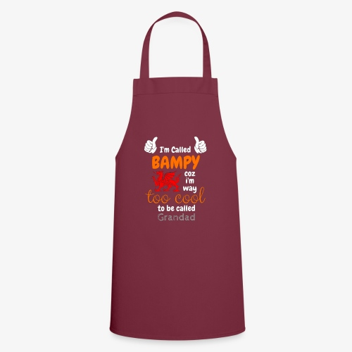 I'm Called BAMPY - Cool Range - Cooking Apron