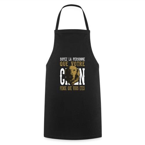 Un amour de chien - Tablier de cuisine