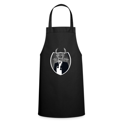 Deer in tuxedo - Cooking Apron