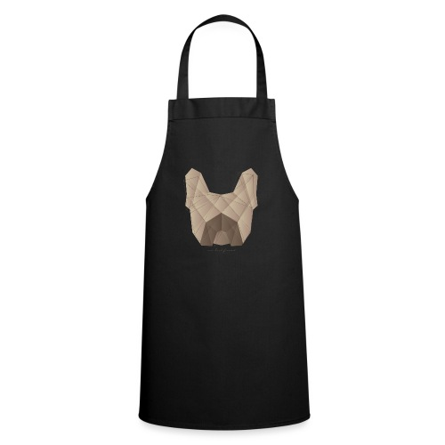 Geometric Frenchie fawn - Französische Bulldogge - Kochschürze