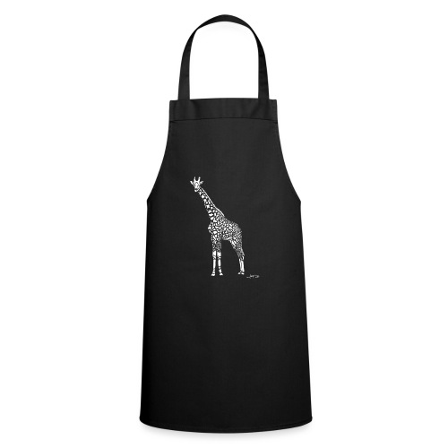 White Girafe by Joaquín - Tablier de cuisine