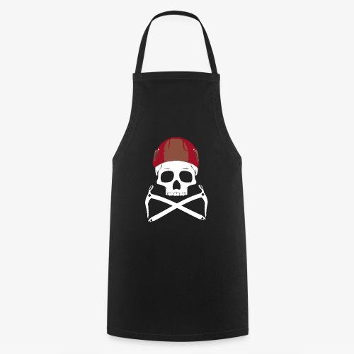 Climber Pirats skull white - Cooking Apron