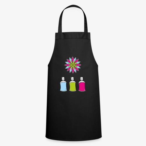 SOLRAC Spray of colors - Delantal de cocina