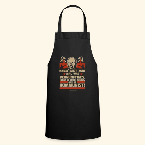 Sprüche T-Shirt Lenin Kommunist - Kochschürze