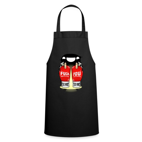 sinceridad del boxeador - Delantal de cocina